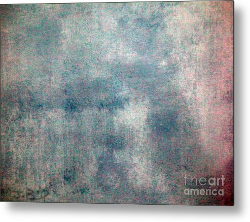 Sponged Metal Print featuring the painting Sponged by Joseph Baril