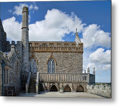 St Michaels Mount Metal Print featuring the photograph St Michael's Mount 3 by Susie Peek