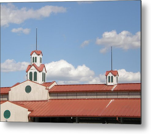 Steeple Metal Print featuring the photograph Steeple Chase by Caryl J Bohn