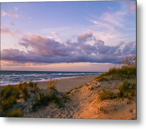 Sunrise Metal Print featuring the photograph Sunrise In Rodanthe by Stacy Abbott