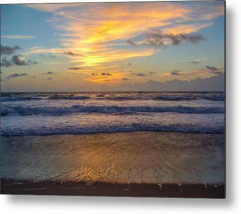 Sunrise Metal Print featuring the photograph Sunrise In Salvo by Stacy Abbott