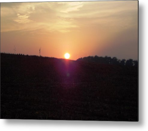Metal Print featuring the photograph Sunset In East Tn by Regina McLeroy