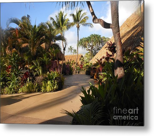 Luau Metal Print featuring the photograph Sunset Old Lahaina Luau by Fred Wilson