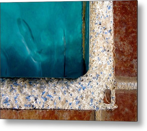 Swimming Pool Metal Print featuring the photograph Swimming Pool by Rob Michels
