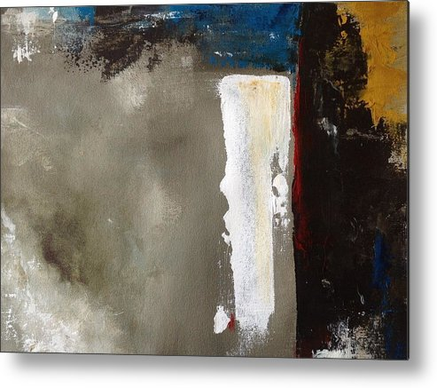 Art Metal Print featuring the painting Synthesis I by Jany Cao Noceti