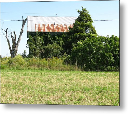 Abandoned Farmhouses Metal Print featuring the photograph Tell Me A Secret by Richard Stanford