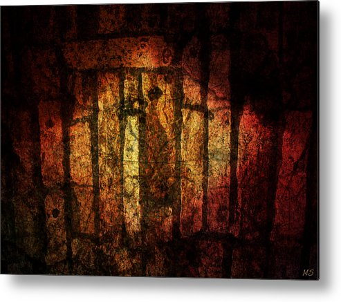 Stones Metal Print featuring the digital art The Ancient Stones by Absinthe Art By Michelle LeAnn Scott