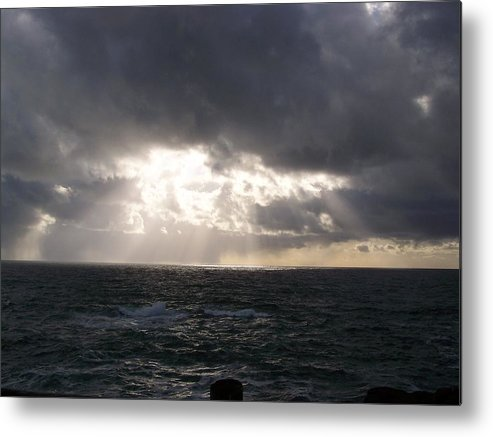 Ocean Metal Print featuring the photograph The Heaven by Heather L Wright