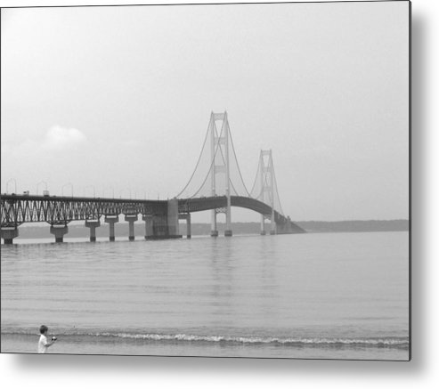 Bridge Metal Print featuring the photograph The Mac by Jennifer King