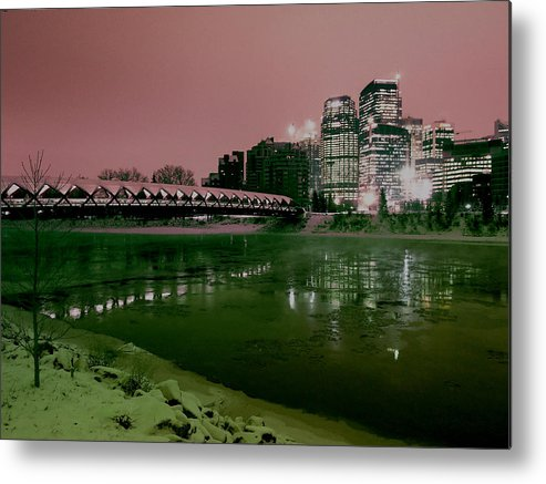 Peace Metal Print featuring the photograph The Peace Bridge by David Pantuso