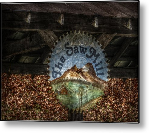 Metal Print featuring the photograph The Saw Mill by Missy Richards