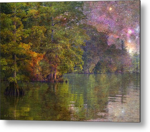 J Larry Walker Metal Print featuring the digital art The Stars Give Way To The Sun by J Larry Walker