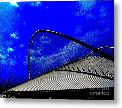 Tennis Venue Metal Print featuring the photograph Thirty - Love by David Bearden