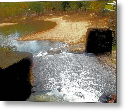 Cosley Mill Metal Print featuring the photograph Through The Locks by James Potts