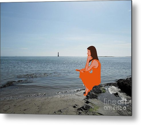 Shore Metal Print featuring the photograph Tin Whistle 3 by Patrick J Murphy