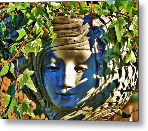Garden Metal Print featuring the photograph Told In A Garden by Helen Carson