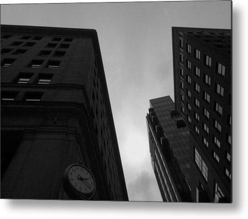 Time Metal Print featuring the photograph Boston Two Twenty by Paul Wilford