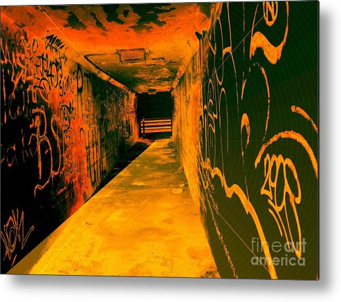 Tunnel Metal Print featuring the photograph Under The Bridge by Ze DaLuz