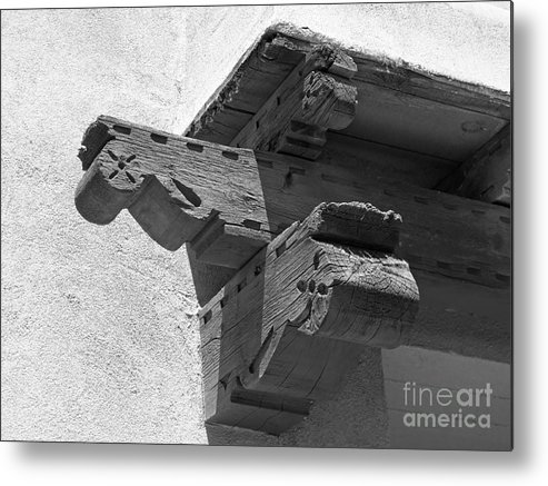 Albuquerque Metal Print featuring the photograph University Of New Mexico Decorative Detail by University Icons