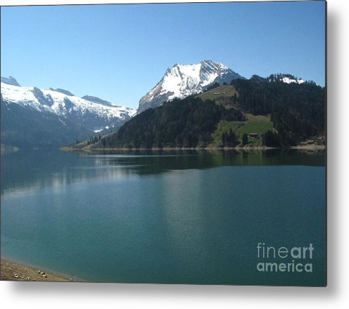See Metal Print featuring the photograph Waegital by Dieter Frank
