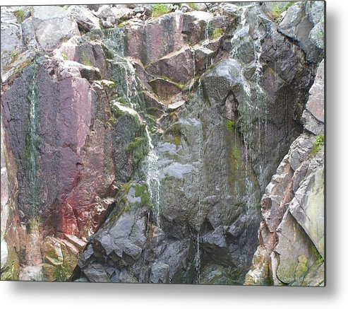 Water Metal Print featuring the photograph Weathering by Desiree Buchanan