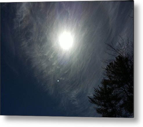 Clouds Metal Print featuring the photograph Wispy by Wendy Barrett