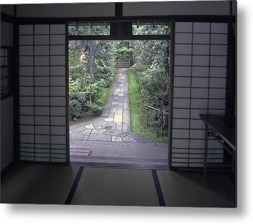 Japan Metal Print featuring the photograph Zen Tea House Dream by Daniel Hagerman