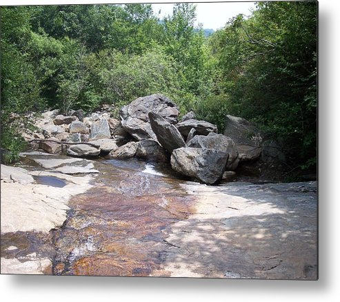Digital Photography Metal Print featuring the photograph Au Natural Dam by Sheri OKeefe
