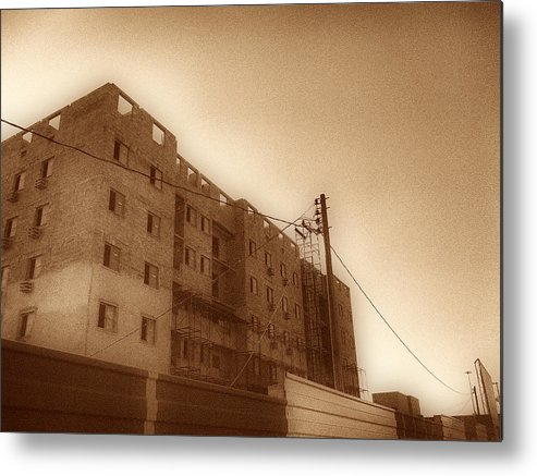 Building Metal Print featuring the photograph Building by Beto Machado