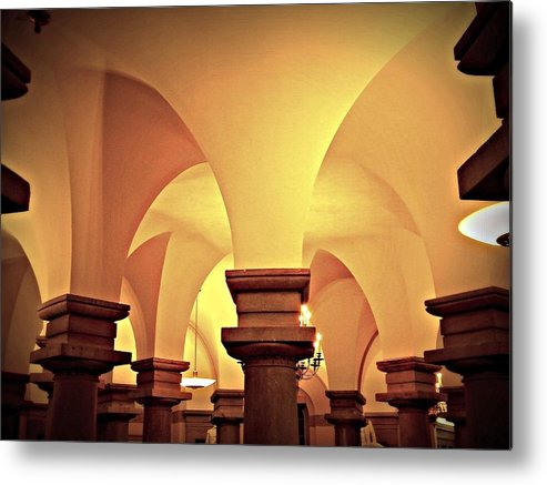 Crypt Metal Print featuring the photograph Curves by Stacy Dunlap