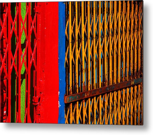 Gilded Cage Metal Print featuring the photograph Gilded Cage by Skip Hunt