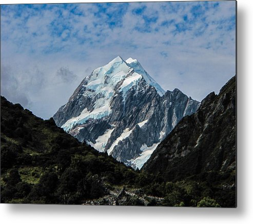 Mount Cook Metal Print featuring the photograph Mount Cook by David Gleeson