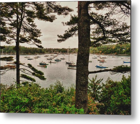 Harbor Metal Print featuring the photograph Northeast Harbor by Kelly Reber