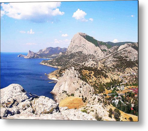 Water Metal Print featuring the photograph Crimea by Vladimir Mekh