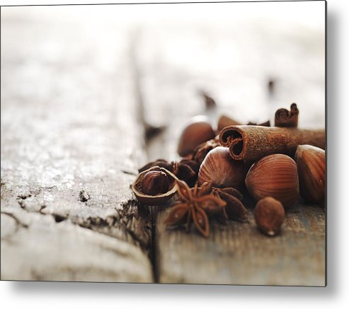 Horizontal Metal Print featuring the photograph Fruit by Henrik Sorensen