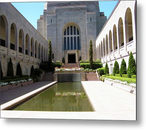 Memorial Photography Metal Print featuring the photograph A Grand Entrance by Joanne Kocwin