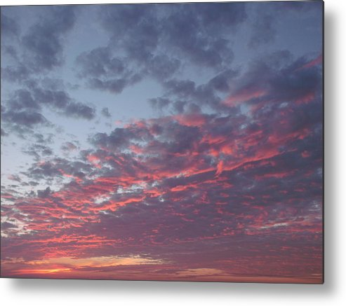 Sky On Fire Metal Print featuring the photograph A Sky On Fire by Brian Maloney