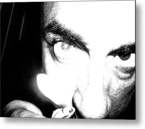 Face Metal Print featuring the photograph Albino by Beto Machado
