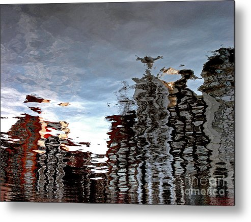 Amsterdam Metal Print featuring the photograph Amsterdam Reflections by Andy Prendy