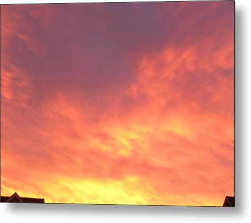Sunset Metal Print featuring the photograph Ashburn Sunset 18 by Kent Clizbe