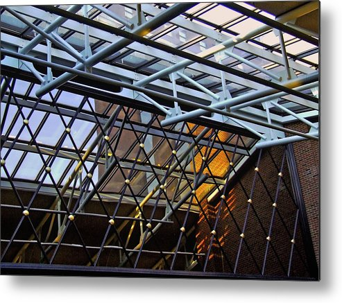 Facades Metal Print featuring the photograph At The Amway by Richard Gregurich