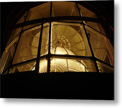 Lighthouse Metal Print featuring the photograph Augustine by Kendra Steiner