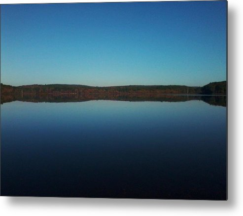 Early Metal Print featuring the photograph Autumn Morning by Edwin Alverio