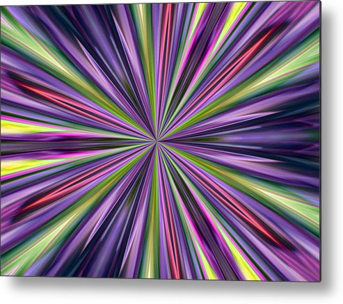 Abstract Photography Metal Print featuring the photograph Bacchus by Danny Lally