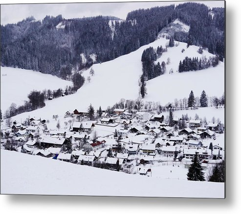 Horizontal Metal Print featuring the photograph Bavarian Village by Rolfo