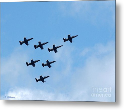 Breitling Metal Print featuring the photograph Breitling In The Air 05 by Arik Baltinester