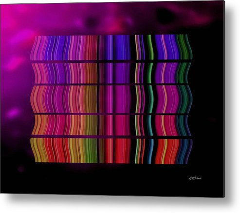 Cabaret Metal Print featuring the digital art Cabaret by Greg Reed Brown