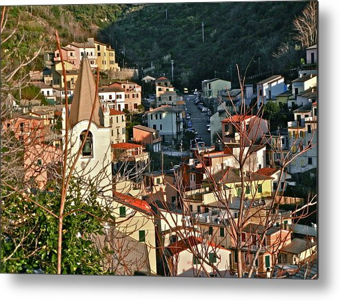 Cinque Terre Metal Print featuring the photograph Cinque Terre II by David Ritsema
