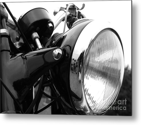 Douglas Metal Print featuring the photograph Classic Douglas Headlight by Andrew May