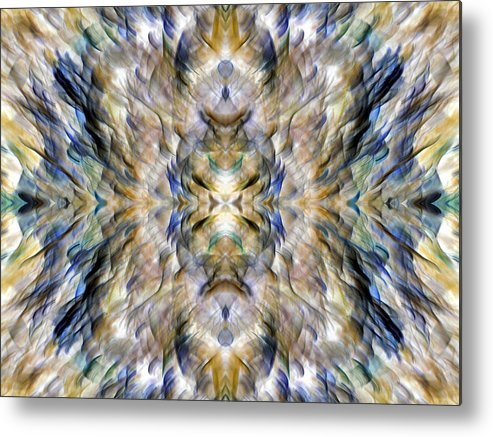Abstract Photography Metal Print featuring the photograph Complexity Of Creation by Danny Lally